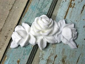 Shabby n Chic Rose Center QUALITY # 1 * FURNITURE APPLIQUES !!