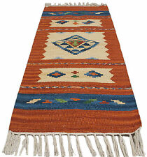 64300-4-Kilim Jahnu Tappis Autentic Indian (150X90 CM )Galleria Farah1970