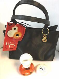 932de05288 Bijan 4 Piece Perfume Set (1.7oz 50ml EDP Spray + Soap + Handbag ...