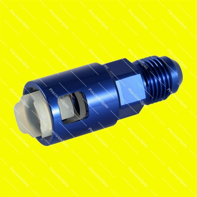 """3/8"""" Female to AN6 6AN Push On Quick Connect Fuel Fitting Adapter Blue Warranty"""