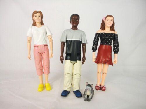 Bozart Kaleidoscope Kids and India the Cat  1:12 miniature 30049 New