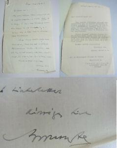 Graf Albert From Apponyi (1846-1933): Ungar. Letter Gyöngöys 1927+ Transcription