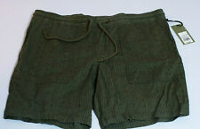 Goodfellow & Co Mens Size Large 38 Shorts Sage Green With Pattern Drawstring