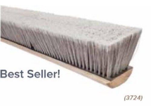 24  Push Broom Sweep Clean Floor Pro Series Floor Brush Push Broom Head