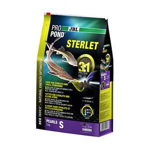 Jbl Propond Sterlet S, 3,0 kg, aliment complet (3 mm) pour petits esturgeons de 10 à 30 cm