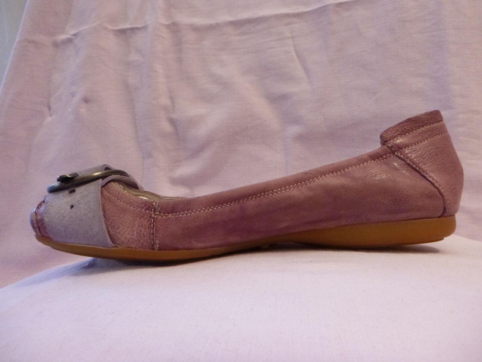 NEU NEU NEU  Salamander- rosa-flieder flexible Ballerinas Leder 37 4861ec