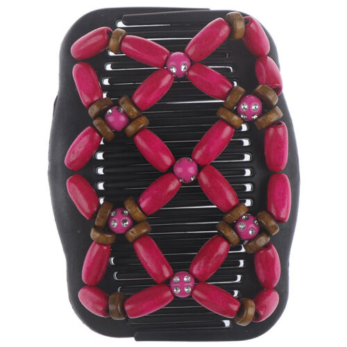 Trend African Hairclip Hair clip Hair clip Butterfly Hair comb Wood design Z gh
