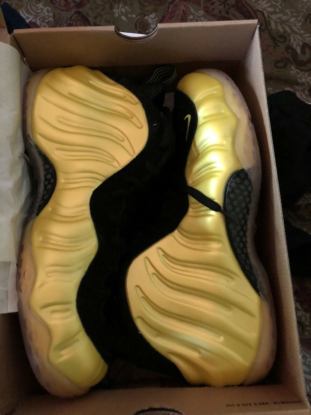 Nike Air Foamposite One Electrolime Yellow 2012 size 12