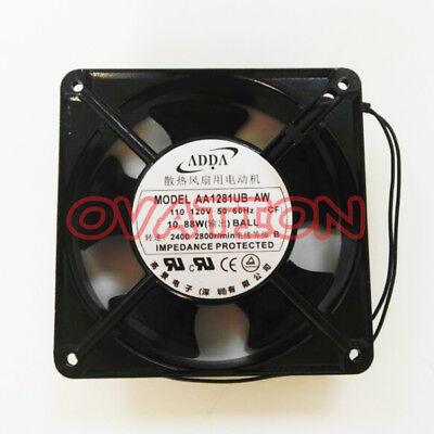 1 PCS ADDA Axial flow fan AA1281HB-AT  12CM 12038 AC 110V 2 Wire