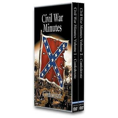 Civil War Minutes - Confederate Boxed Set (DVD, 2002, 2-Disc Set)