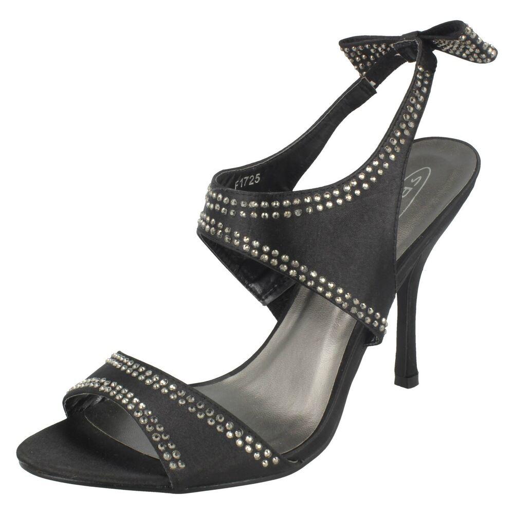"""Femmes Spot On Cloutées à Talon Haut """"sandales's Gagner Une Grande Admiration Et On Fait Largement Confiance à La Maison Et à L'éTranger."""