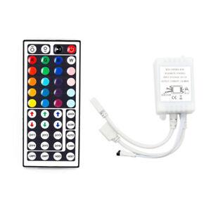 44-Key-Remote-Controller-IR-Control-Box-2-Output-for-12V-RGB-5050-SMD-LED-Strip