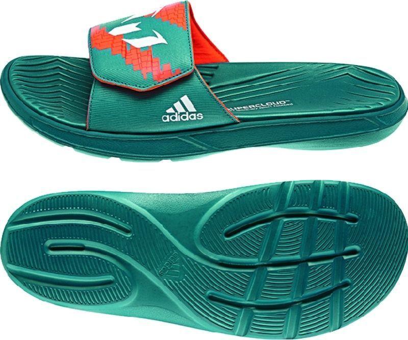 Adidas Messi Slide Sandali Power verde  Core Bianco