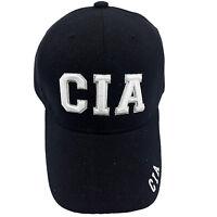 Cia Embroidered Black Cap