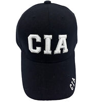 Cia Embroidered Black Cap