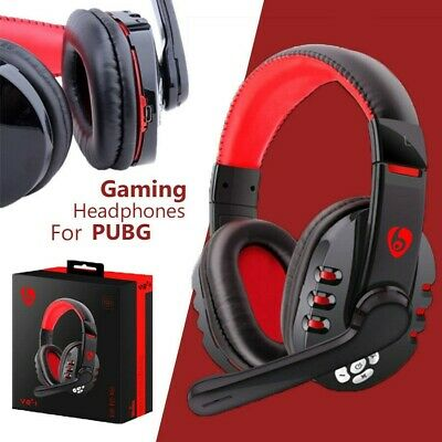 Wireless Gaming Headset Bluetooth Headphone With Mic For Smart Phones Tablet Pc 44276895311 Ebay