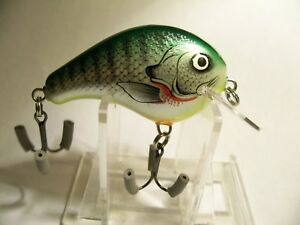 1-Vintage-Bagley-039-s-Balsa-B-1-2in-Body-Fishing-Lures-Crankbaits-Old-Tackle-Box