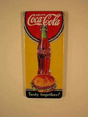 """Coca Cola Embossed /""""Ice Cold/"""" Magnet by Ande Rooney"""