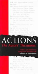 Actions-The-Actors-039-Thesaurus-Paperback-by-Caldarone-Marina-Brand-New-F