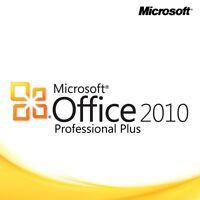 Microsoft Office 2010 Professional Pro Plus - Lizenz Für 1 Pc