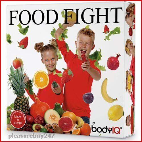 Food Fight Body IQ Educational Board Game Fruit & Vegetable