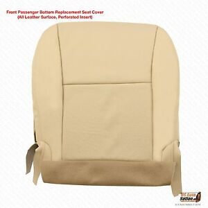 Awesome Details About Front Passenger Bottom Perforated Leather Seat Cover Tan For 2011 Lexus Rx 350 Gmtry Best Dining Table And Chair Ideas Images Gmtryco