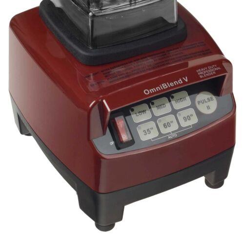 Green Smoothie Maker m kraftvollem 3PS Motor 1,5l Mixbehälter BPA-frei Mixer Rot  p5g0m