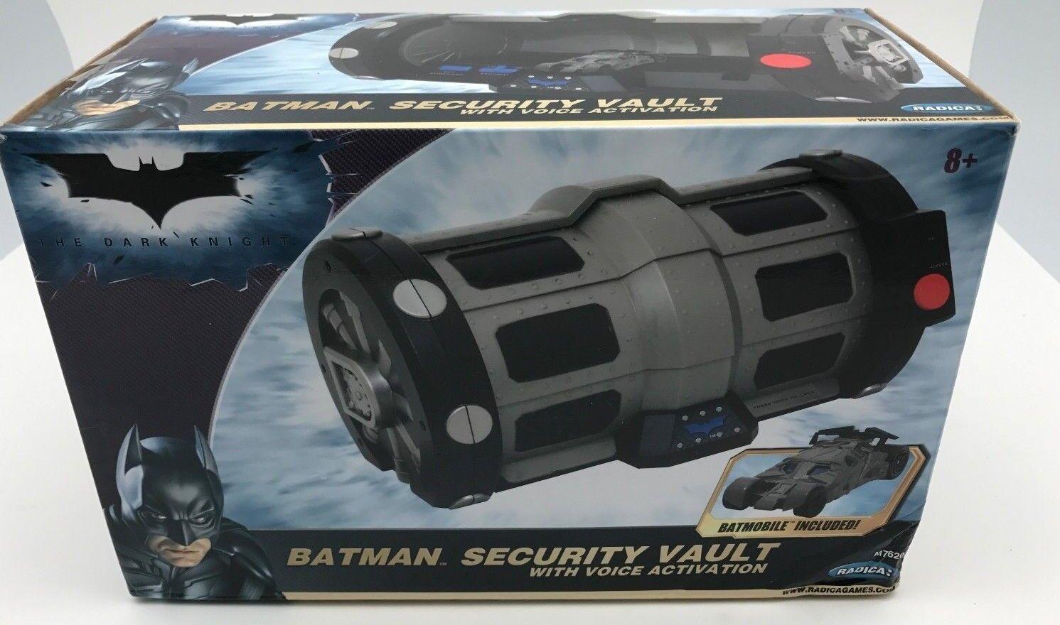 Radica The Dark Knight Security Vault w/ Voice Activation - New