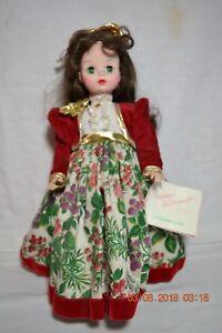 14-034-Madame-Alexander-Christmas-Series-Green-Eye-Lillian-Doll-with-Hang-Tag
