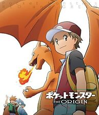 New Pocket Monster Pokemon The Origin Red and Green Blu-ray Poster Japan F/S EMS