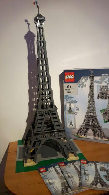 Lego 10181 Modular Building Eiffel Tower 100 Complete Ebay