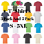 3-amp-5-Pack-Mens-Fruit-Of-The-Loom-100-Cotton-Plain-Tee-Shirts-T-Shirt-T-Shirts thumbnail 1