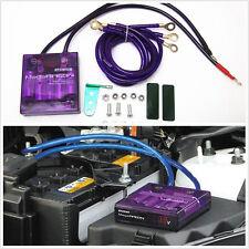 Car Voltage Stabilizer Digit Display 3 Earth Cable Regulators idling Effect 90%