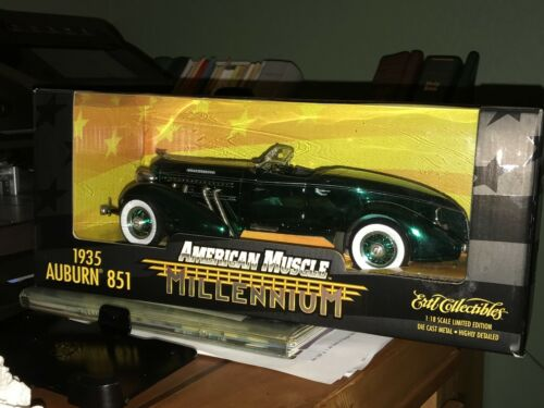10 CAR COLLECTION 10 mint die cast ERTL American Muscle 118 Millennium Edition