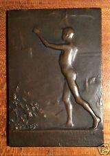 Belle médaille par Paul Weisberg, Retour d'Afrique du Prince Albert, 1909