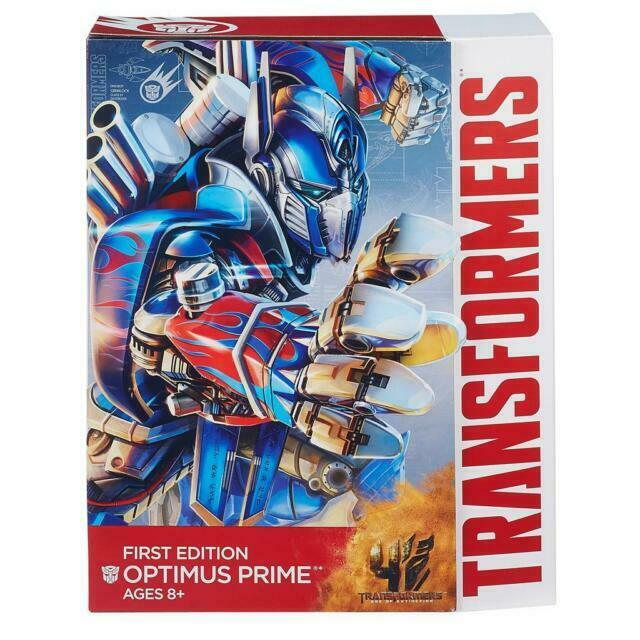 HASBRO TRANSFORMERS 4 AGE OF EXTINCTION FIRST EDITION OPTIMUS PRIME FIGURE