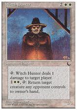 4x Witch Hunter MTG Regular NM, English Chronicles