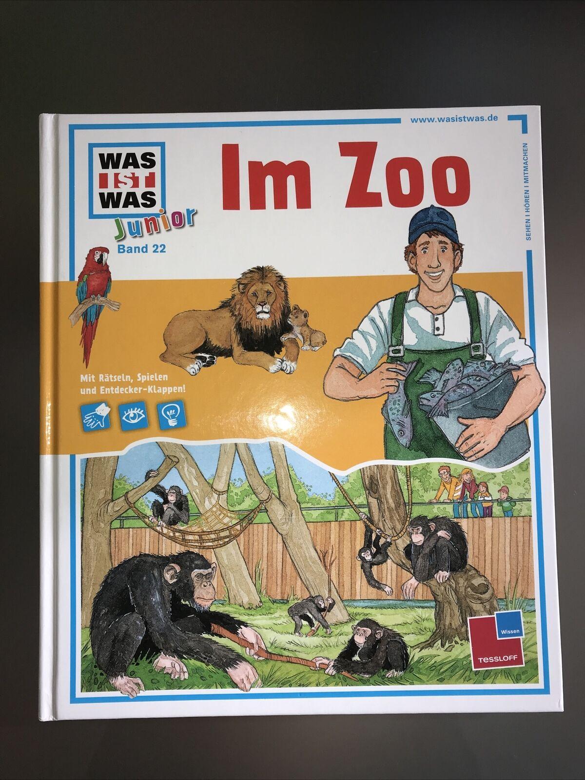 Im Zoo / Was ist was junior Bd.22 von Sabine Schuck (2017, Klappenbroschur)