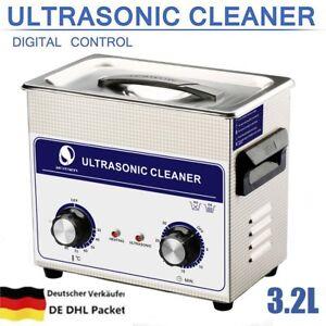 3.2l Ultraschallreiniger Ultraschallbad Ultraschall-reiniger Reinigungsgerät Um Eine Hohe Bewunderung Zu Gewinnen Und Wird Im In- Und Ausland Weithin Vertraut.