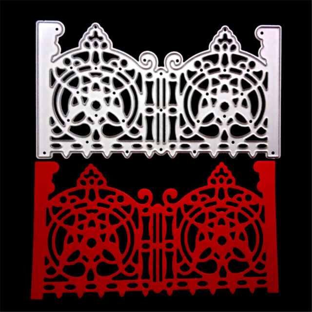 Gate Frame Decor Metal Cutting Dies Stencils For Scrapbooking Paper Cards TOCA