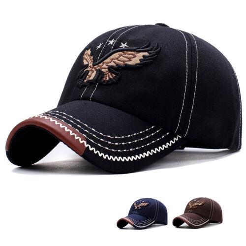 Vintage American Eagle Hat USA Flag Men Women Distressed Baseball Patriotic Cap