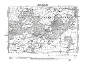Old Ordnance Survey Maps Bristol Kingswood  Gloucestershire 1903 Godfrey Edit