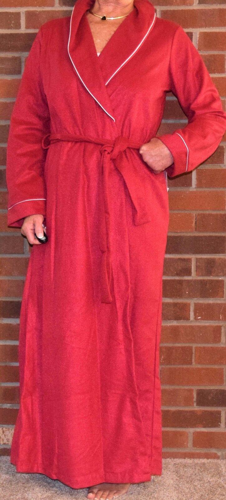"Robe Wrap Fleece Great Length 55"" – 58"" Polyester Made in USA"