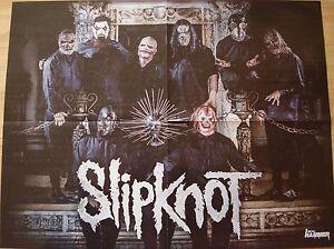 Slipknot-Wayne-STATIC-X-1-Poster-Plakat-45-x-58-cm