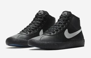 Nike-SB-Bruin-Hi-Leather-UK-Size-5-Women-039-s-Trainers-Black-Shoes-EUR-38-5