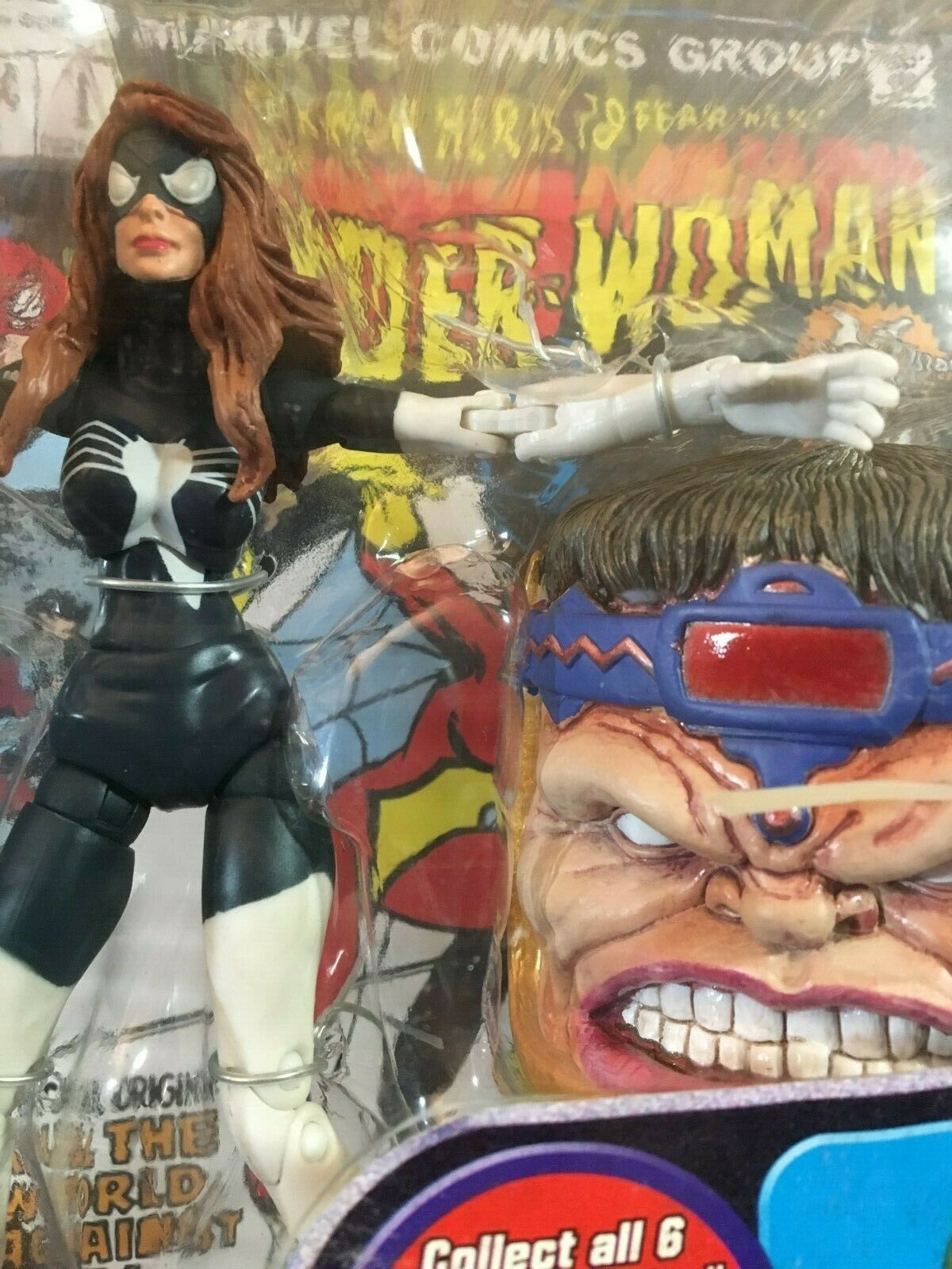 Marvel Marvel Marvel Legends SPIDER WOMAN MODOK BAF head Julia Carpenter variant action figure c6d94c