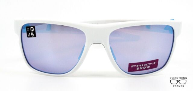 f9f24583894 Oakley Cross Range Sunglasses Polished White Prizm Snow Oo93860-0858 ...