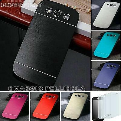 CUSTODIA COVER CASE SLIM IN ALLUMINIO per SAMSUNG GALAXY S3 NEO I9301 PIU PELL