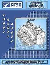 Mitsubishi F5A51 ATSG Transmission Rebuild Manual A5HF1 A5GF1 Transaxle Overhaul