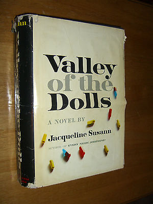 Valley of the Dolls A Novel by Jacqueline Susann First Edition HCDJ 1966